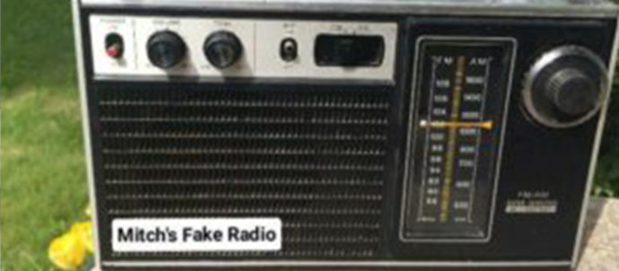 Mitch's Fake Radio